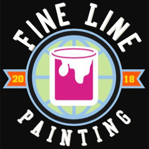 fine line painting logo